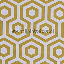 Hex Saffron gordijnen Prestigious Textiles Cube 5733-526