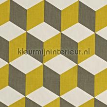 Cube Saffron gordijnen Prestigious Textiles Cube 5734-526