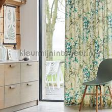 Deneb mos curtains Eijffinger Curtains room set photo's