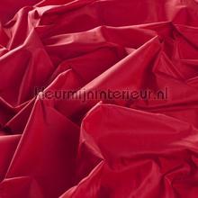 Rode zijde look kamerhoog gordijnen JAB Niet verduisterend