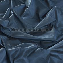 Blauwe zijde look kamerhoog gordijnen JAB Niet verduisterend