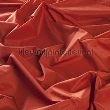 Oranje zijde look kamerhoog gordijnen JAB Niet verduisterend