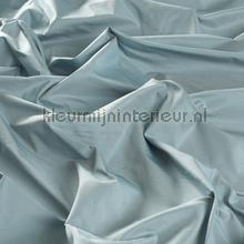 Hemelsblauwe zijde look kamerhoog gordijnen JAB Niet verduisterend