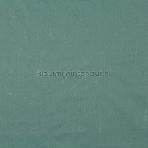 blauw groene zijde look kamerhoog gordijnen 1 6850 084 niet verduisterend jab