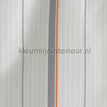Tractor streep oranje grijs gordijnstof tendaggio AS Creation ragazzi