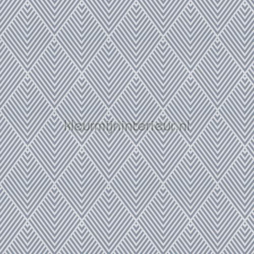 Faye wit-grijze kamerhoge geruite voile gordijnen 1-8835-050 ruiten JAB