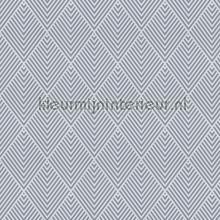 Faye wit-grijze kamerhoge geruite voile gordijnen JAB ruiten