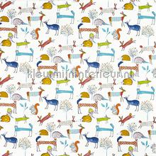 Oh My Deer Fabric Marmalade curtains Prestigious Textiles animals