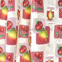 Apples curtains Indes ready made