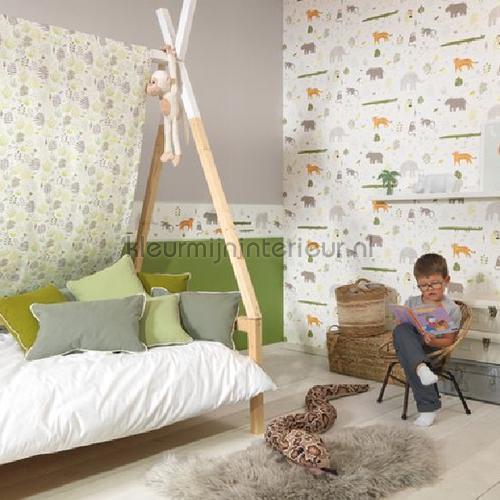 all over jungle cortinas hpdm83407227 Bebês - Crianças Casadeco
