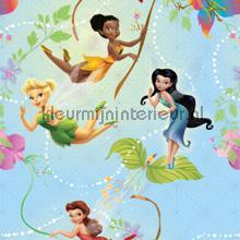 Tinkerbell and friends gordijnen Kleurmijninterieur meisjes