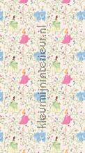 Princesses and flowers cortinas FCS L 7153 meninas Kleurmijninterieur