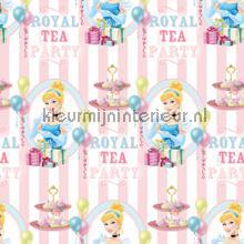 Cinderella royal tea gordijnen Kleurmijninterieur meisjes