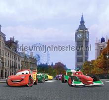 Cars in Londen gordijnen Kleurmijninterieur jongens