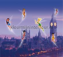 Fairies in London gordijnen Kleurmijninterieur meisjes
