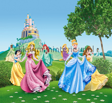Princesses in front of the castle curtains Kleurmijninterieur ready made