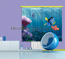 Nemo curtains Kleurmijninterieur teenager