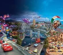 Cars all over the world curtains Kleurmijninterieur teenager