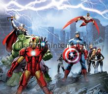 Avengers curtains Kleurmijninterieur teenager