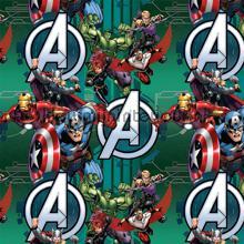 A Avengers curtains Kleurmijninterieur teenager