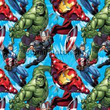 Avengers coming in curtains Kleurmijninterieur teenager