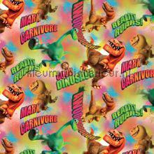 Dinosaur curtains Kleurmijninterieur teenager