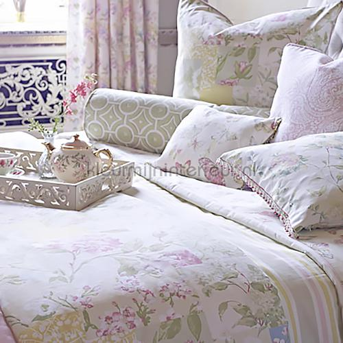 Whitewell Fabric Hydrangea cortinas 5743-265 flores Prestigious Textiles