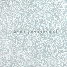 Langden Fabric Porcelain gordijnen Prestigious Textiles romantisch