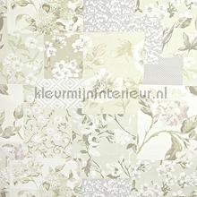 Whitewell Fabric Hydrangea gordijnen Prestigious Textiles romantisch