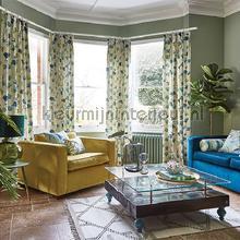 Camarillo chartreuse cortinas Prestigious Textiles romântico