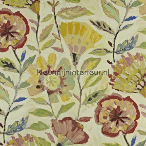 Fandango Hibiscus gordijnen 8566-264 Mardi Gras Prestigious Textiles