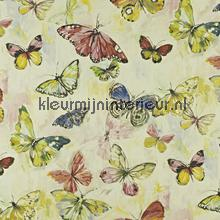 Butterfly cloud Hibiscus curtains Prestigious Textiles ready made