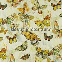 Butterfly Cloud Pineapple cortinas Prestigious Textiles romántico