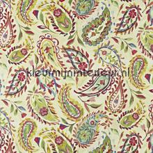 Calypso Hibiscus cortinas Prestigious Textiles romántico