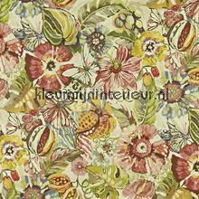 Tropical Garden Hibiscus rideau Prestigious Textiles stress