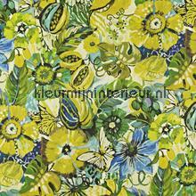 Tropical Garden Mojito rideau Prestigious Textiles stress