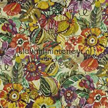 Tropical Garden Passion Fruit cortinas Prestigious Textiles quadrado