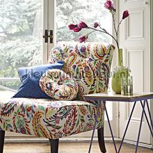 Calypso Passion Fruit cortinas Prestigious Textiles romántico