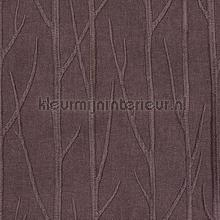 Maros Bomen Grijs Paars gordijnen Eijffinger modern