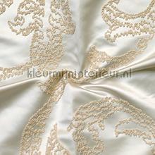 Mekong Bladerpatroon Gebroken Wit gordijnen Eijffinger romantisch