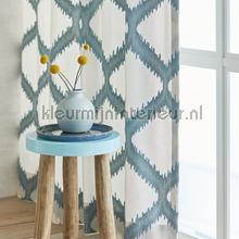 Merga grijsblauw curtains Eijffinger Curtains room set photo's