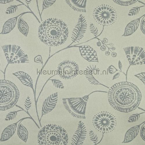 ecuador dove rideau 2801-903 fleurs Prestigious Textiles