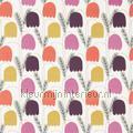 Fritilla fleurs motifs