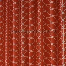 Linear stem tomato curtains Eijffinger Curtains room set photo's
