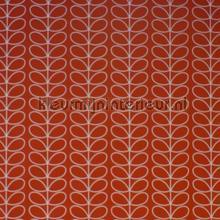 Linear stem tomato cortinas Eijffinger retro