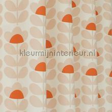 Sweetpea orange gordijnen Eijffinger retro