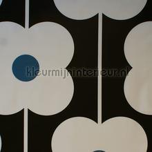 Abacus flower powder blue cortinas Eijffinger retro