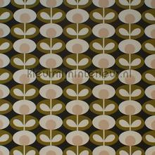 Oval flower seagrass gurdainstof Eijffinger strepe