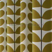 two color stem olive gordijnen eijffinger orla kiely 7747 1