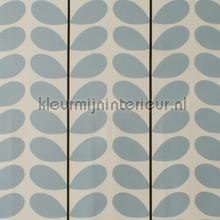 Two color stem powder blue cortinas Eijffinger romántico